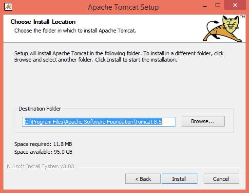 Windows and Apache Tomcat - TERMINALFOUR Knowledge Base