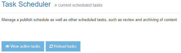 Task Scheduler Reload Button